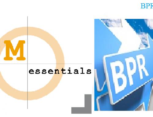 رابطۀ مدیریت فرایندهای کسب و کار و مهندسی مجدد فرایندهای کسب و کار (BPM و BPR)
