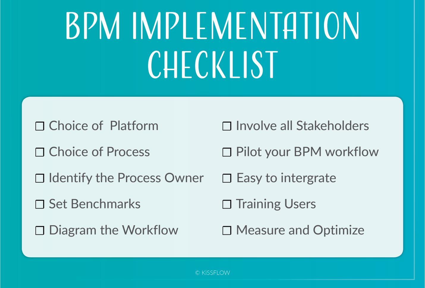 پیاده سازی سیستم مدیریت فرآیند