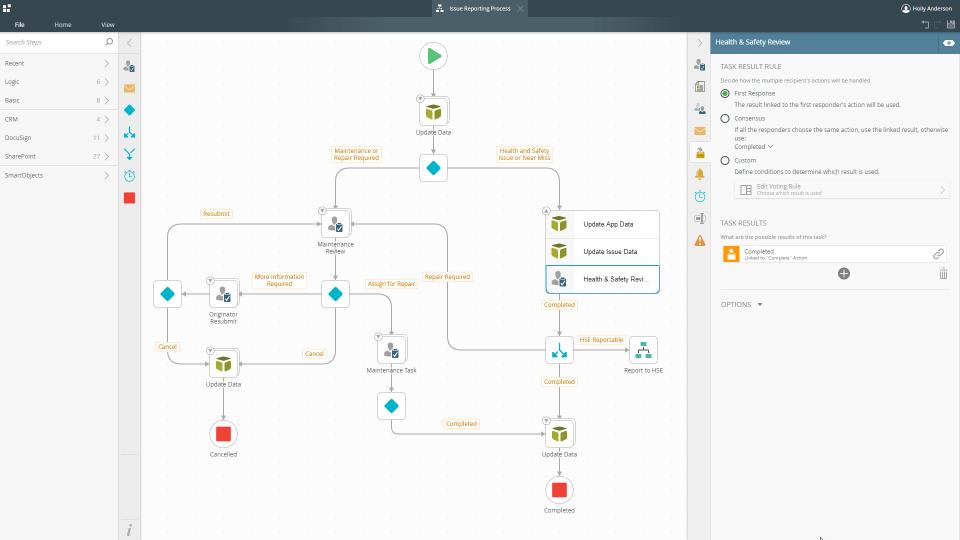 محیط کاربری K2-Platform